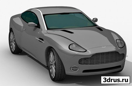 Aston Martin 3d model (max)