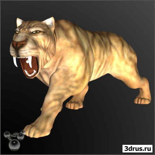 Модели доисторических животных для Poser'а