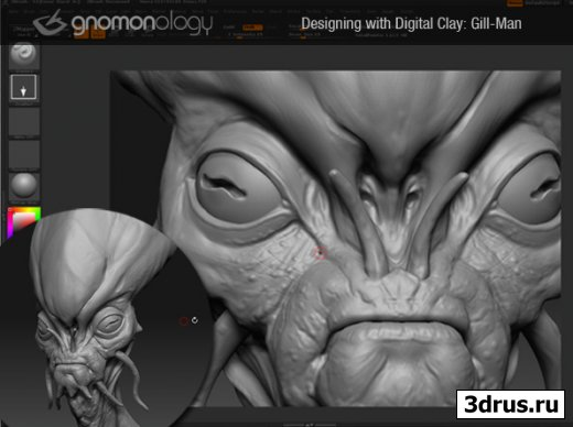 Designing with Digital Clay: Gill-Man