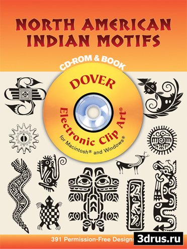 Клипарт Dover™ North American Indian Motifs