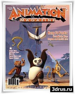 Animation Magazine June/July 2008