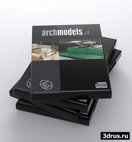 3d модели Evermotion Archmodels Vol.01