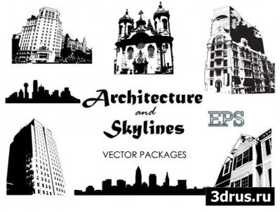 Architecture and Skylines Vector Packages