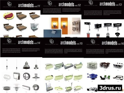 Evermotion Archmodels Vol.11-16