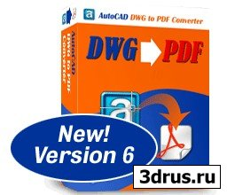 AutoCAD DWG to PDF Converter 6.9.2