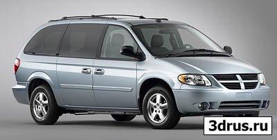 Dodge caravan 3d model in .max