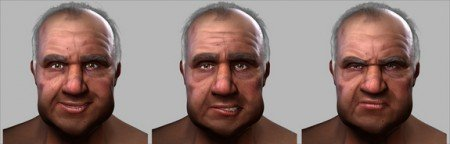 Facial animation toolset for Maya