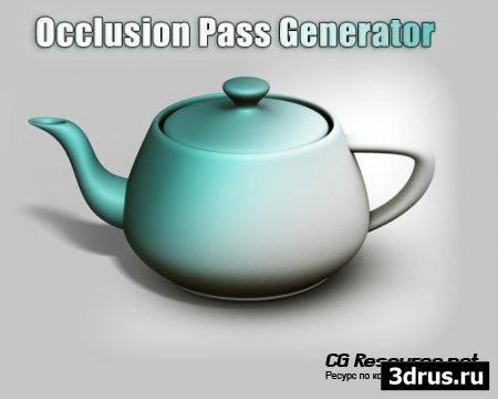 Occlusion Pass Generator