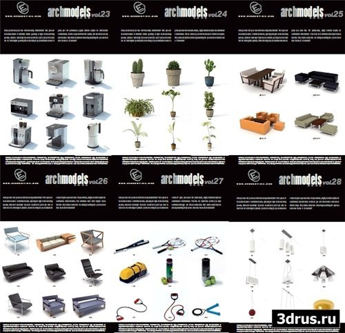 Evermotion ArchModels Vol 23-28