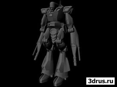 3d Buzz: Modeling Robot