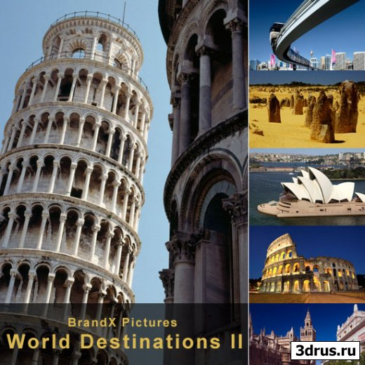 BrandX Pictures - BX-232 World Destinations II