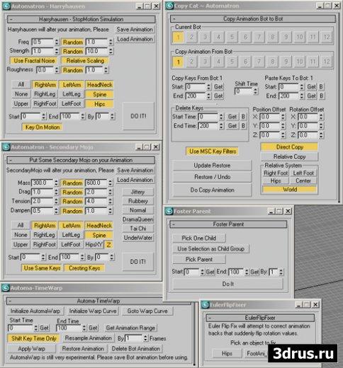 Automatron 1.0 - 3D Max 8-9