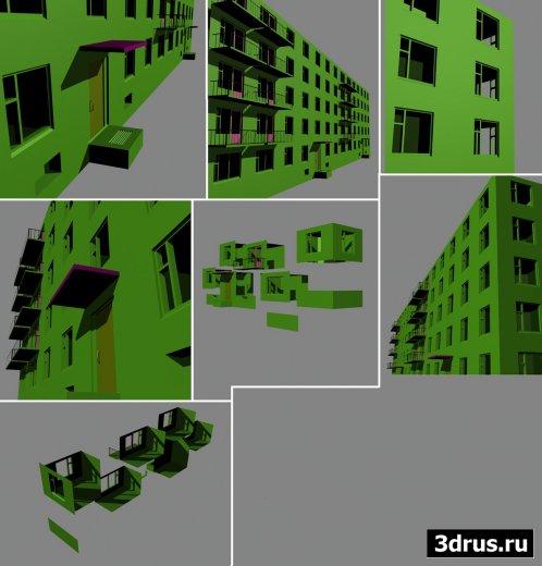Конструктор многоэтажного дома
