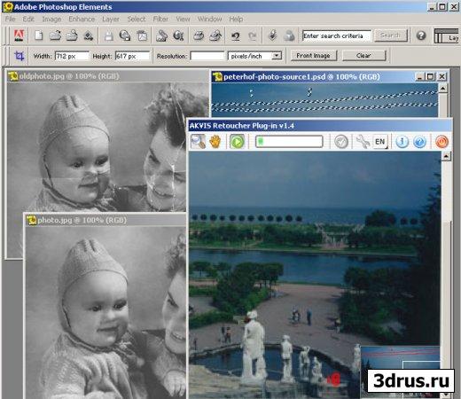 AKVIS Retoucher — программа для восстановления изображений и ретуши фотографий