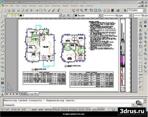 VTC: Autodesk AutoCAD 2007 For Architects