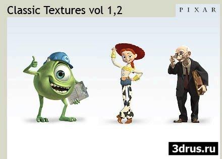Pixar Classical Textures v1,2