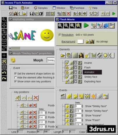 3D Flash Animator 4.9.8.7 Portable