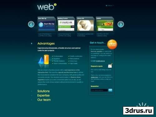 3 шаблона для сайтов