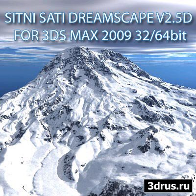 SITNI SATI DREAMSCAPE V2.5D FOR 3DS MAX 2009 32/64bit