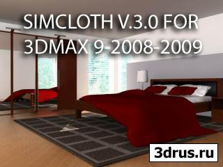SIMCLOTH V.3.0 FOR 3DMAX 9-2008-2009