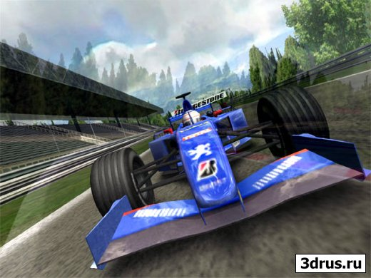 3D Formula 1 Screensaver 1.4