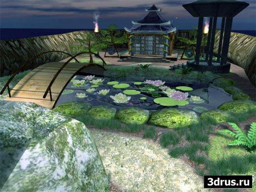 Lovely Pond 3D ScreenSaver 2.0