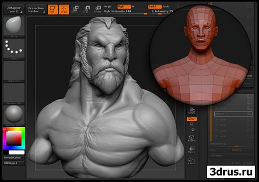 GNOMONOLOGY ZBRUSH MANIMAL 3D SCULPTING SESSION
