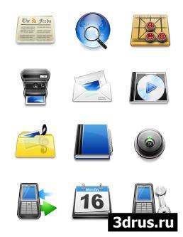 Красивые иконки для мобильника