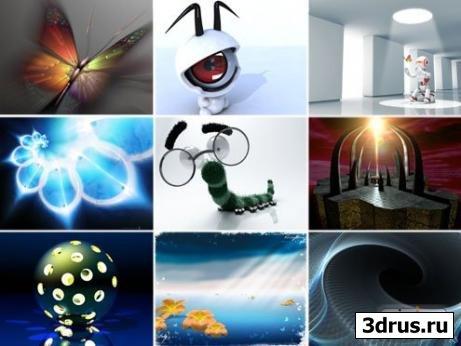 Обои для рабочего стола на тему: 3D-графика