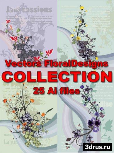 Vectors FloralDesigns COLLECTION