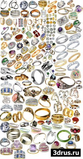Кольца, украшения, камни...