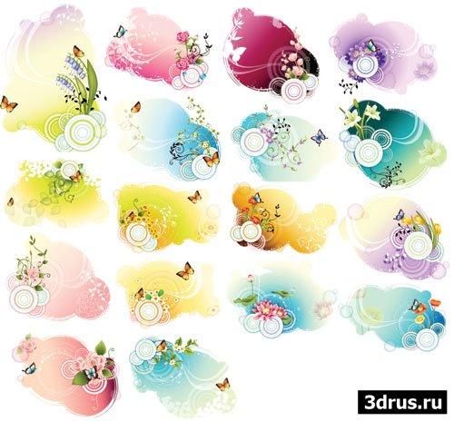 """Векторные иллюстрации """"Бабочки"""""""