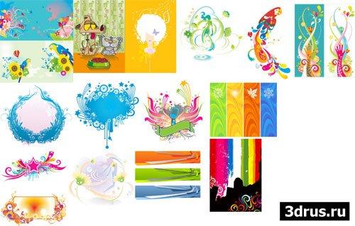 Creative fantasies - векторные иллюстрации
