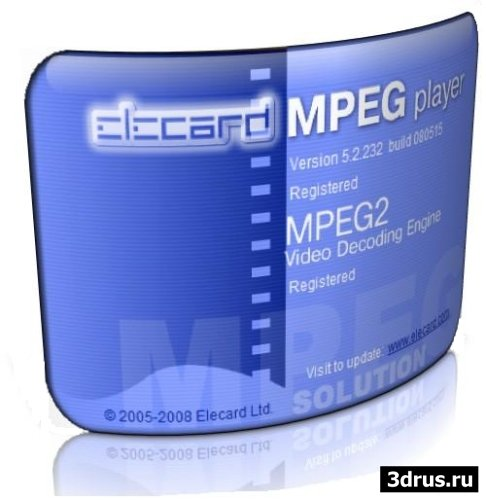 Elecard MPEG Player 5.3 Build 80624