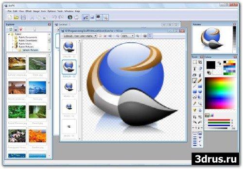 IcoFX Portable 1.6.4 Rus