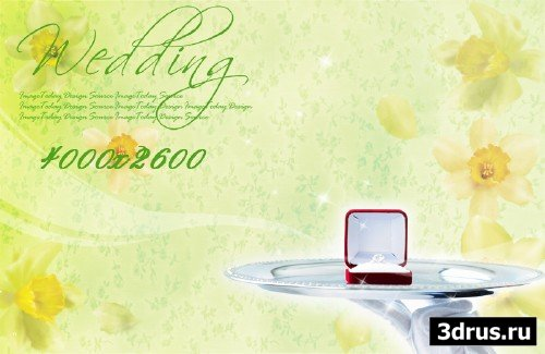 Big wedding backgrounds psd 2