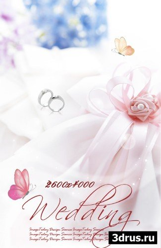 Big wedding backgrounds psd 4