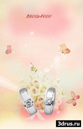 Big wedding backgrounds psd 11