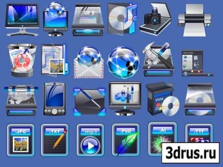 New Windows Vista Icons 2009