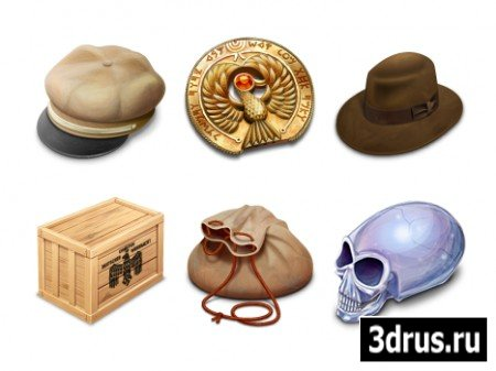 Indiana Jones Pack Icons