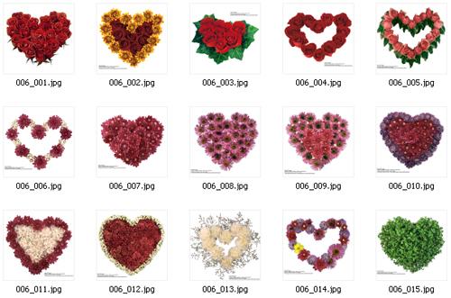 День святого Валентина: сборник HQ растрового клипарта (ч.1)