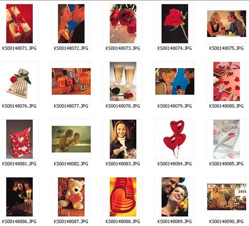 День святого Валентина: сборник HQ растрового клипарта (ч.2)