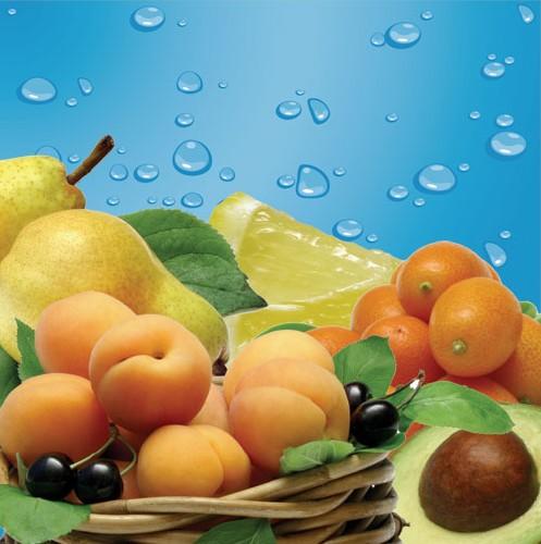 Фрукты ягоды торты 3drus 3d графика 2d