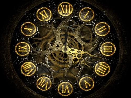 Механические часы 3D