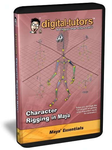 Digital -Tutors Character Rigging in Maya