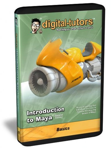 Digital -Tutors Introduction to Maya, 2nd Edition
