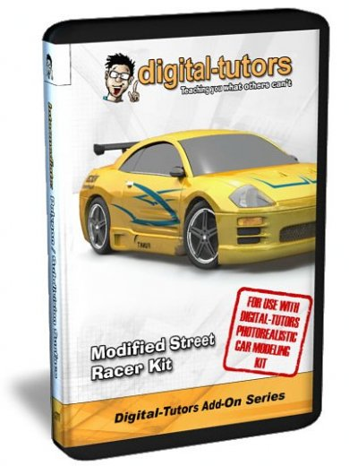 Digital -Tutors Add-On-Street Racer Kit