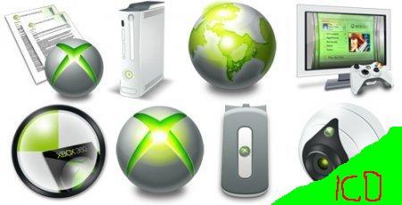 Иконки Icons-XBOX360 128*128