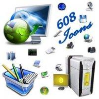 608 красивых 3D иконок