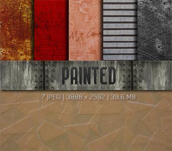 Текстуры - Painted Textures